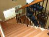 Escalera realizada en madera